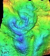 gravity map of the chicxulub impact